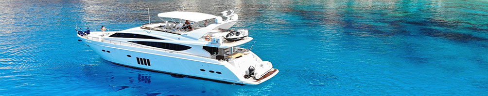 PRINCESS 85 FLYBRIDGE LUXURY YACHT CHARTER MYKONOS